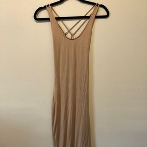 Naked wardrobe mid length dress